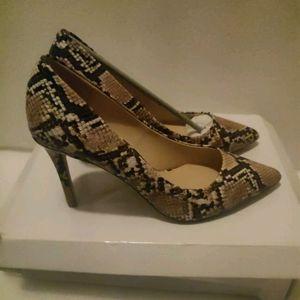 Amazon Brand - find. Dubai Women's  Brown Snake),